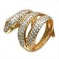 """Кольцо  """"Змея """" - CharmGold магазин: серебряные и золотые украшения."""